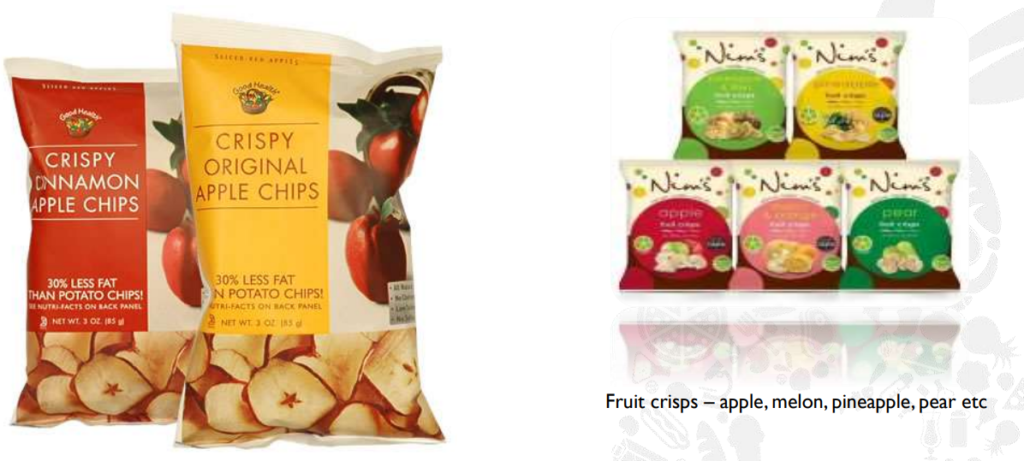 Fruit Crisps Product